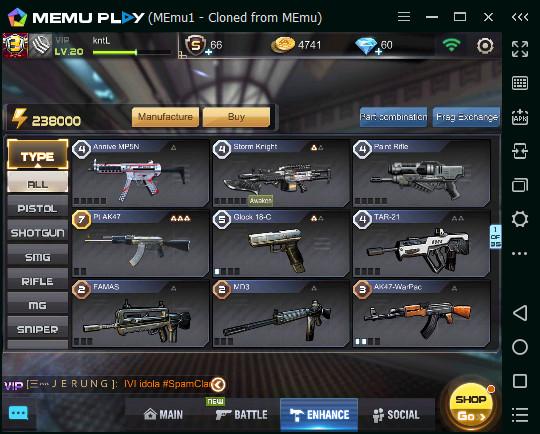 PROMO SPESIAL : WEAPON LANGKA PT AK 47 LV7 !!!!!