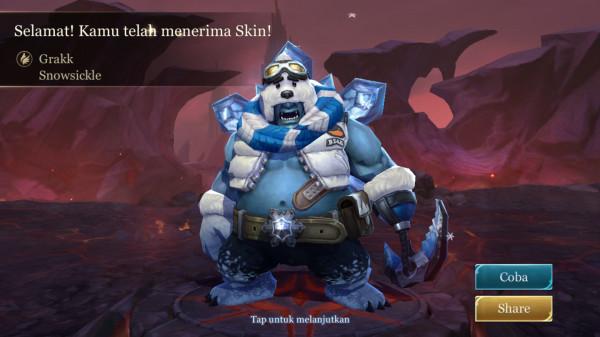 Skin Grakk Snowsickle