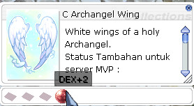 Costume Archangel Wing DEX+2