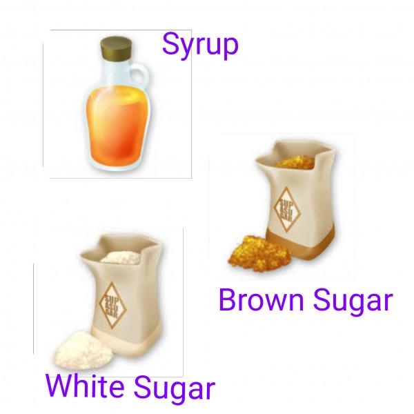 Syrup / Gula Merah / Gula Putih