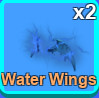 Water Wing Mythical Hat | Mining Simulator