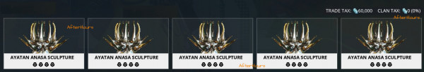 Ayatan Anasa Treasure