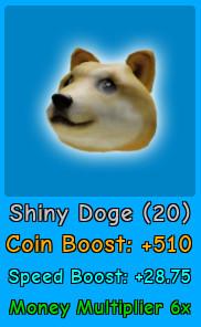 2x Shiny Doge | Magnet Simulator