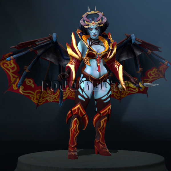 Regalia of the Parasol's Sting (Queen of Pain Set)