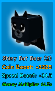 Shiny Bat Bear | Magnet Simulator