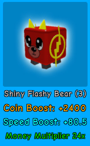 Shiny Flash Bear | Magnet Simulator
