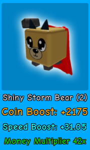 Shiny Storm Bear | Magnet Simulator