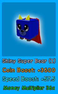 Shiny Super Bear | Magnet Simulator