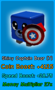 Shiny Captain Bear | Magnet Simulator