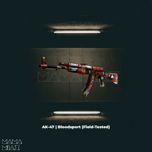 AK-47 | Bloodsport (Covert Rifle)