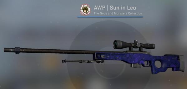 AWP | Sun in Leo (Minimal Wear)