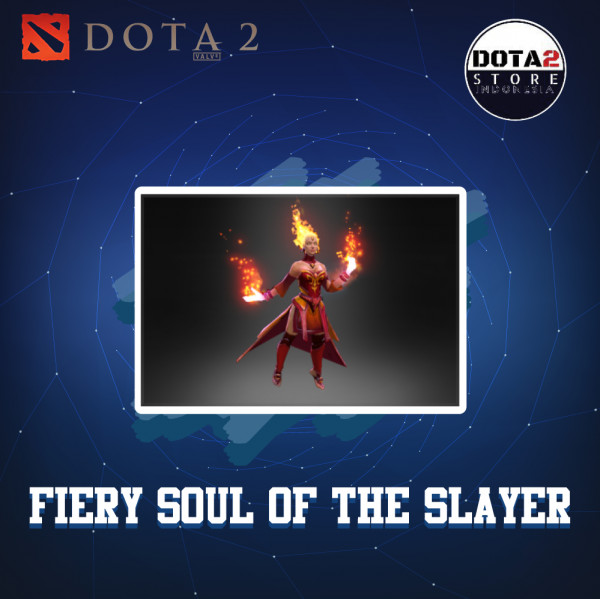 Inscribed Fiery Soul Of The Slayer (Arcana Lina)