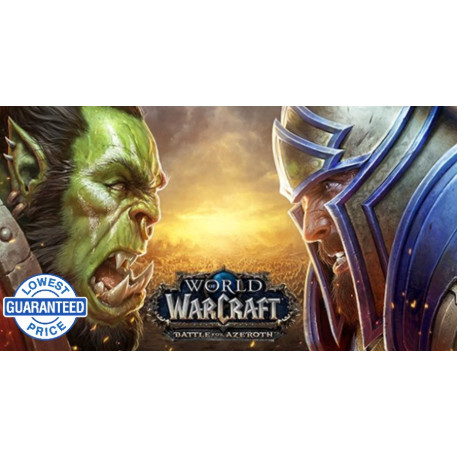 World of Warcraft: Battle for Azeroth CD KEY