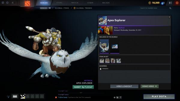 Apex Explorer (Batrider Set)
