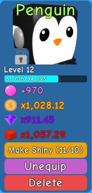 Penguin - Bubble Gum Simulator