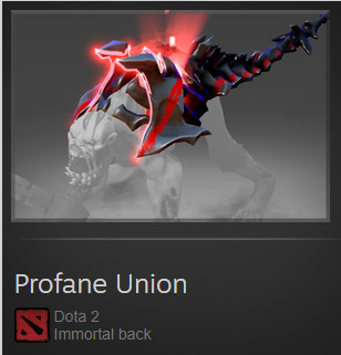 Profane Union (Immortal TI7 Lifestealer)