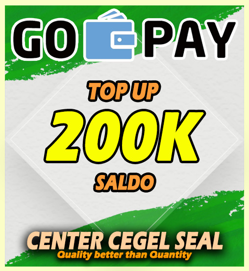 Top-up GO-PAY 200.000