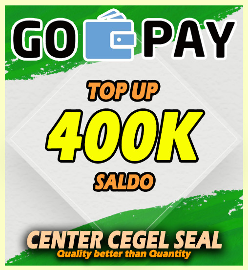 Top Up GOPAY 400.000