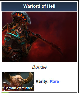 Warlord of Hell ( Centaur Warrunner Set)