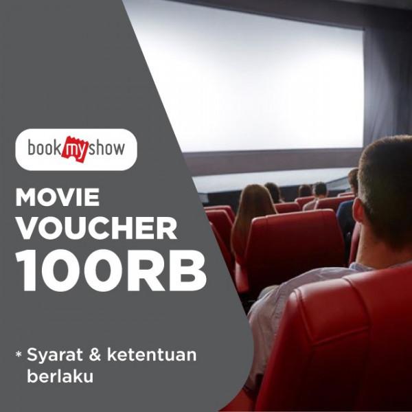 Voucher BookMyShow 100k