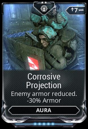 Corrosive Projection (Mod)