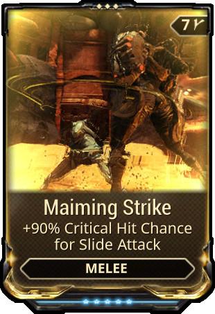 Maiming Strike (Mod)