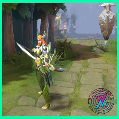 Falconside Armor (Windranger Set)