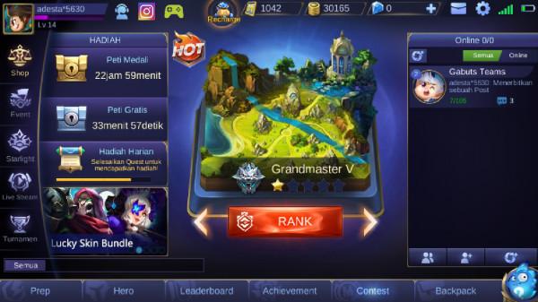 Grandmaster V (30k BP + 1000 Tiket)