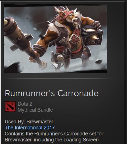 Rumrunner's Carronade (Brewmaster Set)