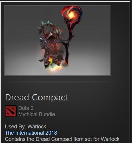 Dread Compact (Warlock Set)