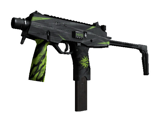 MP9 | Deadly Poison (Mil-Spec SMG)