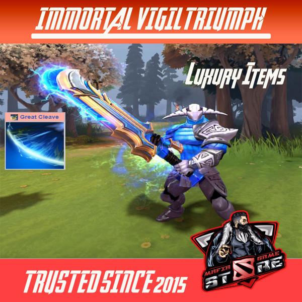 Vigil Triumph (Immortal TI7 Sven)