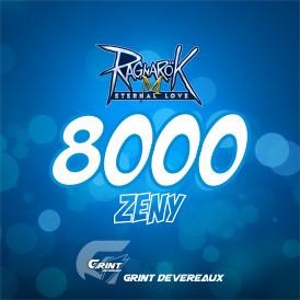 8.000 Zeny