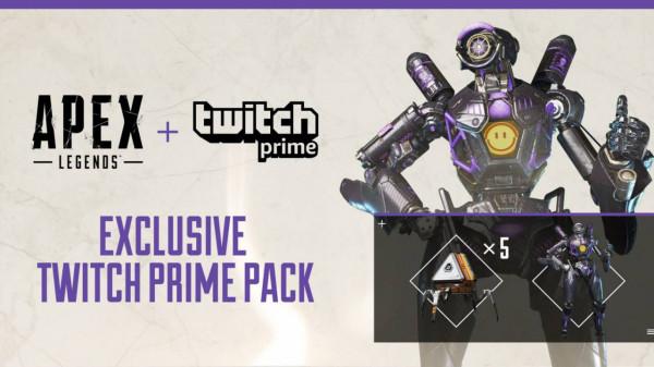 Twitch Prime Apex Legend