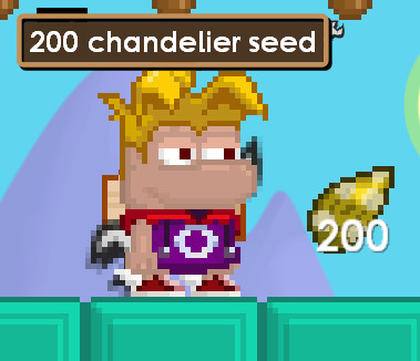 Paket 200 Chandelier Seed