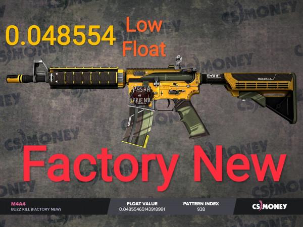 M4A4 | Buzz Kill (Factory New)