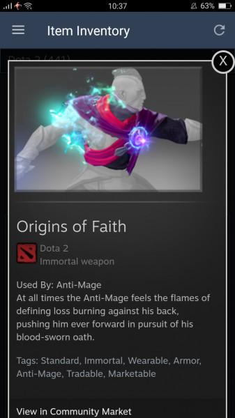 Origins of Faith (Immortal TI7 Anti-Mage)