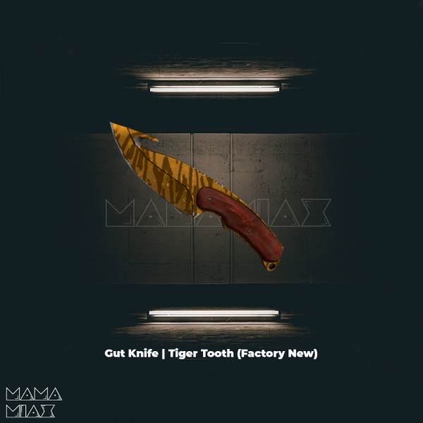 Gut Knife | Tiger Tooth (Covert Knife)