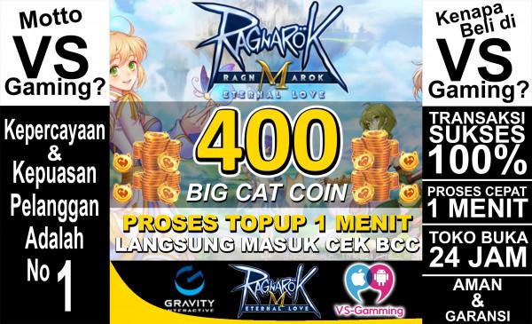 400 Big Cat Coin