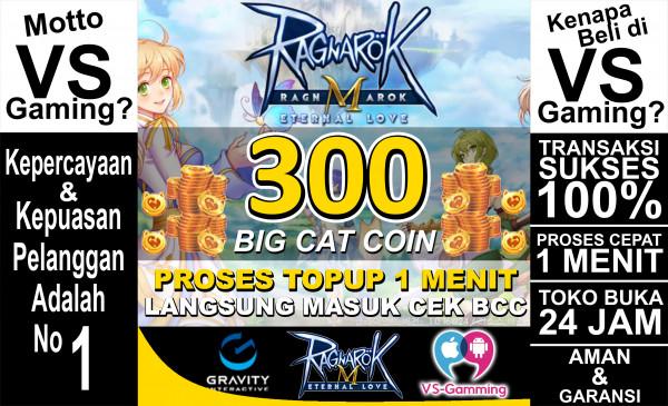 300 Big Cat Coin