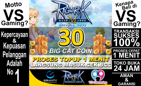 30 Big Cat Coin