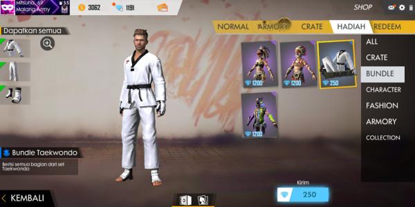 Bundle taekwondo