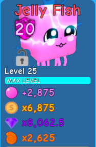 Jelly Fish | Bubble Gum Simulator