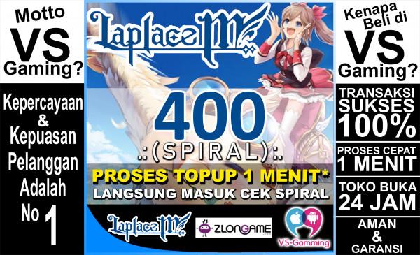 400 Spiral