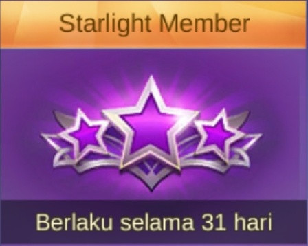 Starlight Member + 127 diamonds