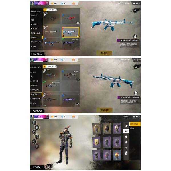 AkuN GG senjata permanen dan bundle
