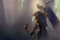 Inscribed The True Crow (Shadow Shaman)