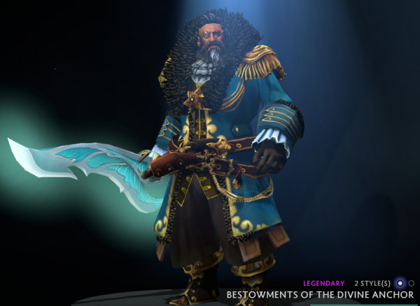 Bestowments of the Divine Anchor (Kunkka Set)