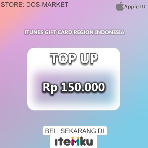 Gift Card IDR 150.000