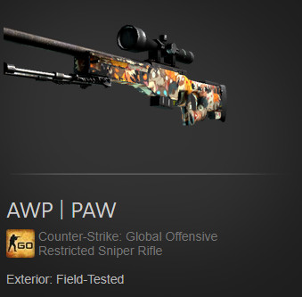 AWP | PAW (Field Tested)